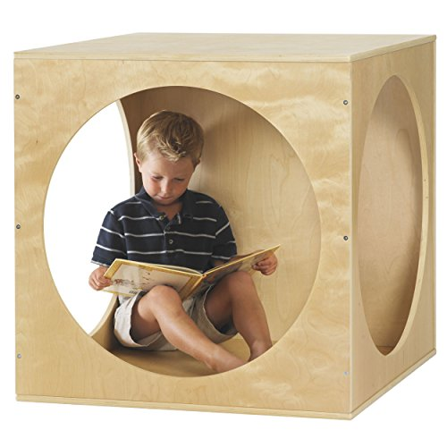ECR4Kids Birch Hardwood Playhouse Cube ()