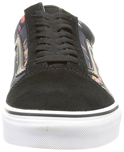 Vans U Old Skool Black Bloom - Zapatillas de estar por casa Unisex adulto Black Bloom/Black/True White