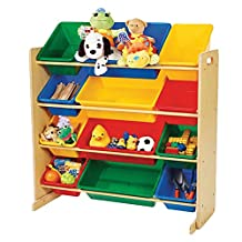 Tot Tutors 12 Bin Toy Organizer