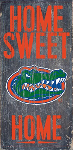 Florida Gators Wood Sign - Home Sweet Home 6x12