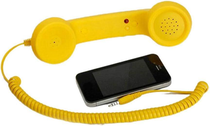 FidgetGear 3,5 mm strahlungsfester Telefonh/örer f/ür Handys