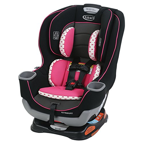 Graco Extend2Fit Convertible Car Seat in Kenzie | Simply