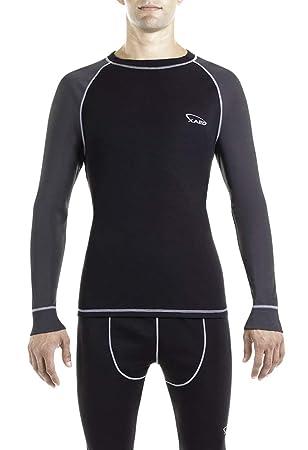 XAED I101072-003 Camiseta Térmica, Hombre: Amazon.es: Deportes y aire libre