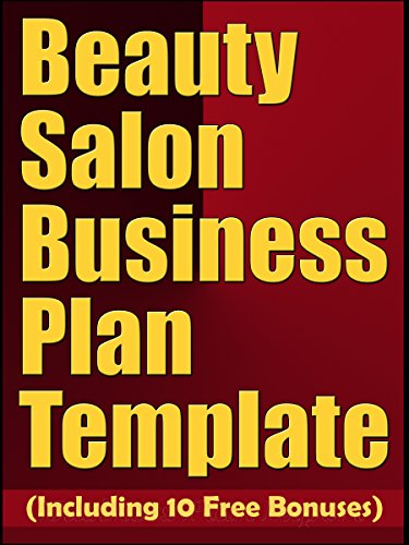 Amazon beauty salon business plan template including 10 free beauty salon business plan template including 10 free bonuses by business plan expert friedricerecipe Image collections