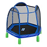 Sportspower My First Trampoline, 84 Inch Heavy Duty Outdoor Children's Bouncer With Safety Net...