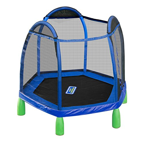 Sportspower My First Trampoline, 84 Inch Heavy Duty Outdoor...