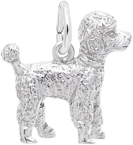 Rembrandt Poodle Charm - Metal - Sterling Silver
