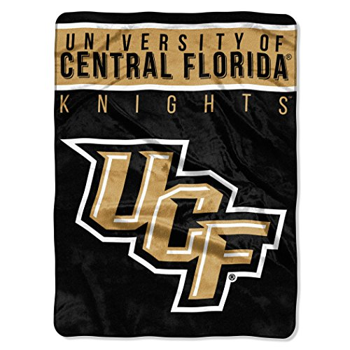 The Northwest Company Officially Licensed NCAA University of Central Florida Knights Basic Raschel Throw Blanket, 60