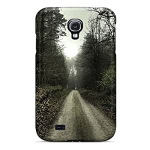 Tpu Fashionable Design Landscape Forest Road Nature Rugged Case Cover For Galaxy S4 New