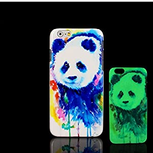 For iPhone 7 Plus Case, Glow in the Dark Beautiful Animal Pattern TomCase Fluorescent Back Cover for iPhone 7 Plus Case 5.5 inch, P20
