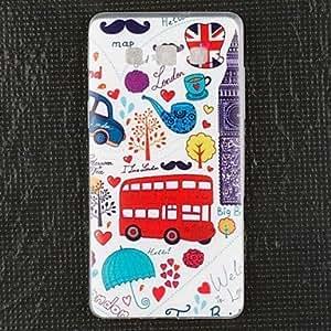 WQQ Teléfono Móvil Samsung - Carcasas de Cuerpo Completo - Gráfico - para Samsung Galaxia A5 TPU )