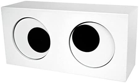 Happy Giftmart Eye Shape Table Desk Cartoon Clock