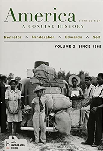 Amazon com: America: A Concise History, Volume 2, with