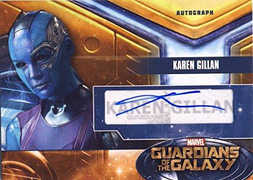 2014 Guardians of the Galaxy Trading Card Set Autograph Karen Gillan as Nebula