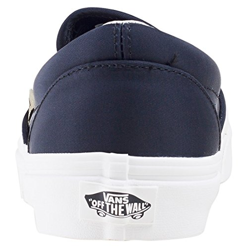 Vans Unisex Klassischer Slip-On (California Souvenir) Skate Schuh Blk