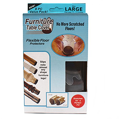 Furniture Feet Flexible Floor Protectors ( Large-8) (Large Furniture Feet compare prices)