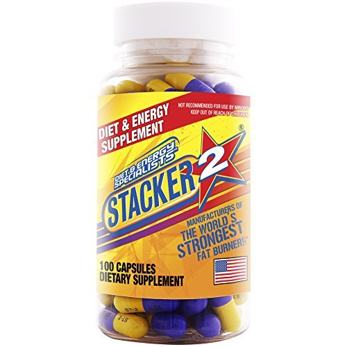 Stacker Burner Capsules Ephedra 100 Count