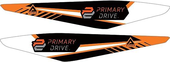 Attack Graphics Turbine Rear Fender Decal Orange for KTM 250 SX-F 2011-2015