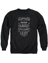 Harry Potter Happiness Mens Crew Neck Sweatshirt