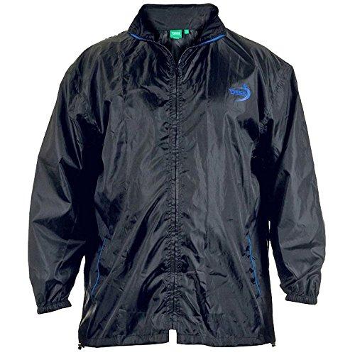 Hombre Black Packaway Con Impermeable Kingsize Lluvia De Abrigo Chaqueta Bolsa Duke wqt5vnOq