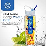 EHM Ultra Alkaline Water Bottle Made Right in USA, Healthy Fresh Tasting Drink, High pH Maker Flask, Cup- Improves Energy, Mood & Brain Activity, Anti-Aging