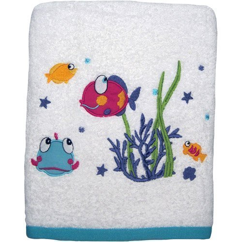 Mainstays Something's Fishy Bath Towel