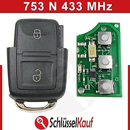 Konikon 2 Tasten Autoschlüssel Gehäuse 433 Mhz Sender Elektronik
