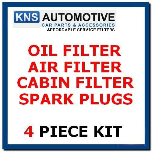 Oil,Air,Pollen Filter /& Plugs Service Kit