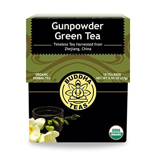 Organic Gunpowder Green Tea Contains