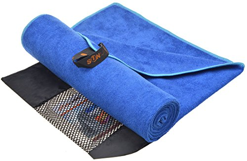 Sunland Ultra Absorbent Travel Towels Fast Drying Microfiber Sports Towel Bath Gym Towels 40inch X 72inch
