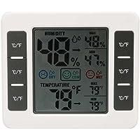 CJ-3316D LCD Digital Thermometer Hygrometer MAX/MIN Digital Temperature Humidity Meter for Baby Room Kakiyi