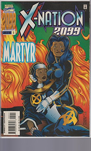 X-NATION 2099,MARTYR,JULY 1996, ISSUE 5