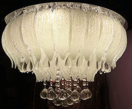 Buy jhoomar ceiling light decorative chandelier with three color and ...