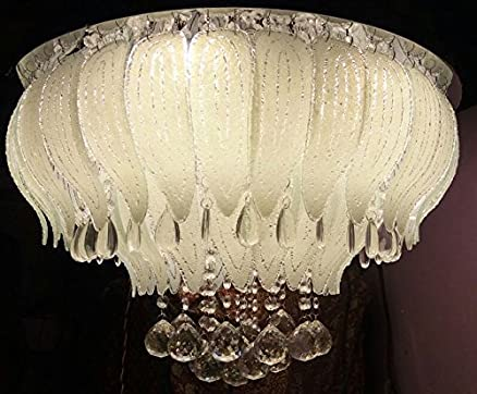 Buy jhoomar ceiling light decorative chandelier with three color ...