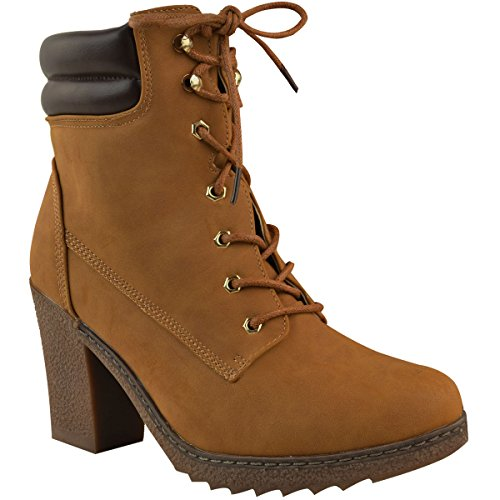 Laced Biker Boots - 3