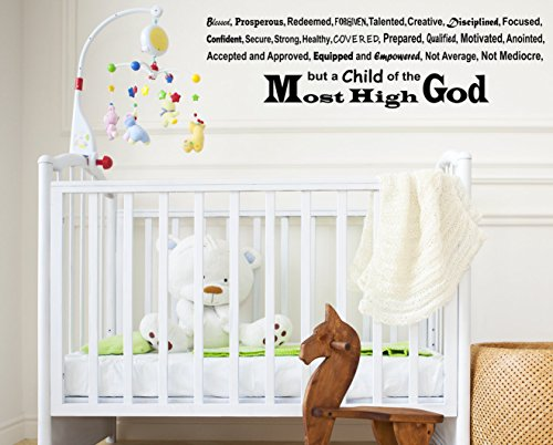 Joel Osteen I Declare - Inspirational Wall Decals - Joel Osteen Quotes - Inspiring Wall Decals Remind You of what God says about you from the Most High God - - Now Ti Is Where