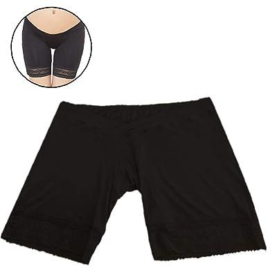 Aisoway Embarazadas bajo la Cintura Suave de Seguridad a Corto Maternidad Calzoncillos Pantalones Ropa Interior de los Pantalones Cortos Negro (tamaño XXL): Ropa y accesorios