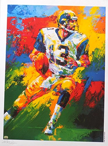 Sports Integrity 15755 Kurt Warner St. Louis Rams Signed 25 x 33 Lithograph - Mounted Memories by Sports Integrity
