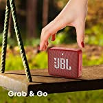 JBL GO2 Plus by Harman Portable Bluetooth Speaker with Mic (Red)