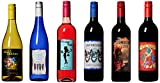 Craft Wine ALL IN Mixed Pack Non Vintage California Cabernet Sauvignon, Chardonnay, Riesling, Zinfandel, Sweet Blush, Red Wine Blend 6 x 750 mL