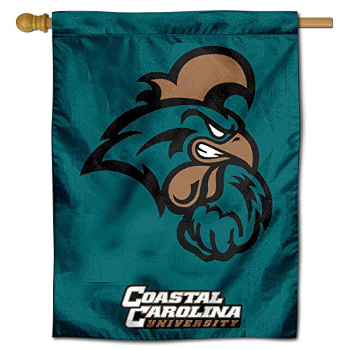 (College Flags and Banners Co. Coastal Carolina University CCU Chanticleers House Flag )