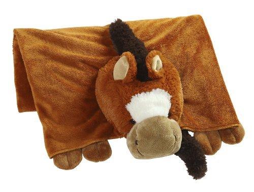 compras en linea The Original My Pillow Pets Horse Blanket (Chestnut marrón) by by by Pillow Pets  entrega de rayos