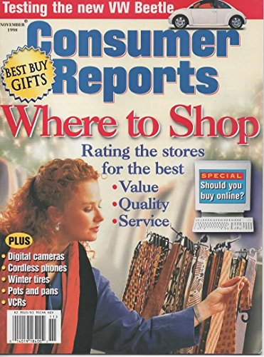Consumer Reports November 1998
