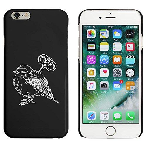 Schwarz 'Vogelspielzeug' Hülle für iPhone 6 u. 6s (MC00026929)