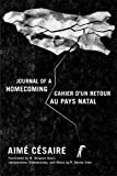 Journal of a Homecoming / Cahier d'un retour au pays natal (English and French Edition)