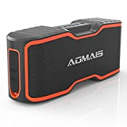 #LightningDeal 76% claimed: AOMAIS Sport II+ Bluetooth Speakers, Portable Wireless Speaker with Loud Sound, IPX7 Waterproof, 20 Hours Playtime, 99 ft Bluetooth Range & Built-in Mic, Perfect for Home Party, Beach,Shower