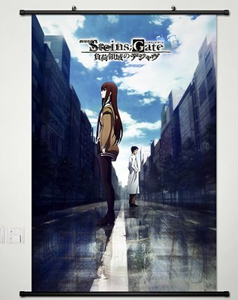 Steins Gate Wall Scroll Poster Fabric Painting For Anime Oka