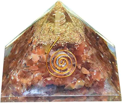 Spiritual Elementz Reiki Charged Carnelian Orgone Pyramid (3