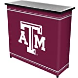 NCAA Texas A&M University Two Shelf Portable Bar with Case