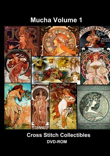 Mucha Cross Stitch Vol. 1